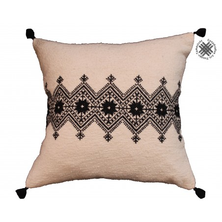 hand embroidered cushion Tam