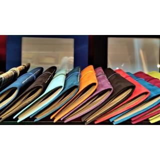 colour elastic suede-cover...