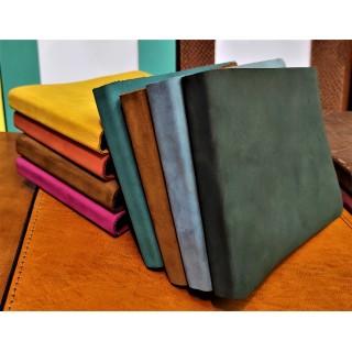 colour soft suede notebook