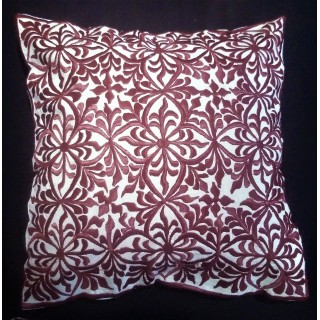 embroidered cushion...