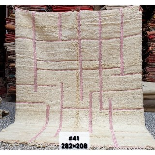 original moroccan Mrirt rug...