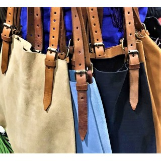 moroccan leather hand bag
