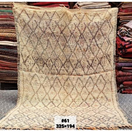 vintage moroccan rug 325/194
