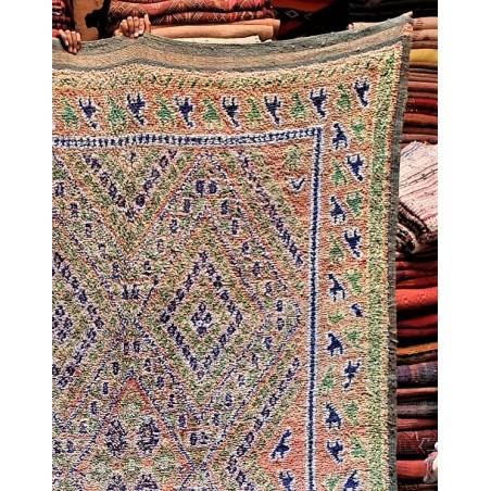 vintage moroccan rug 358/200