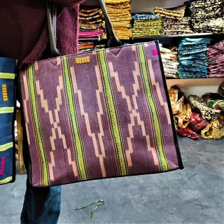 "tote bag ""a sunday in Bamako"""