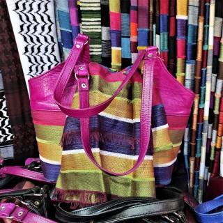 Sabra hand bag and matching...