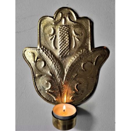 lucky wall candle handler