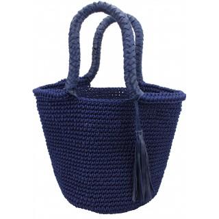 panier crochet pompon TAM