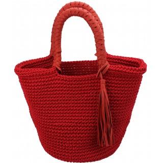 crochet pompom basket TAM