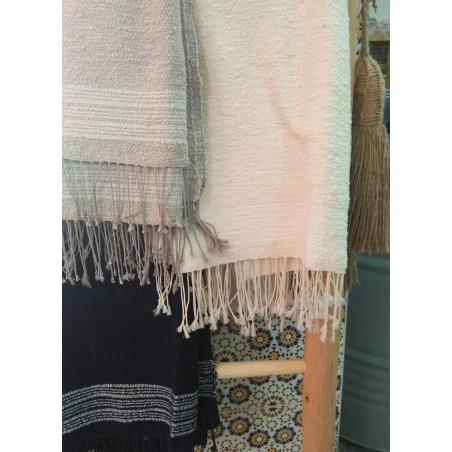 Marrakech handwoven cotton...