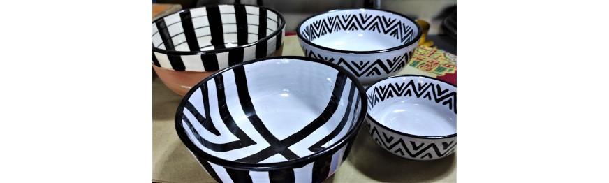 bowls and salad bowls